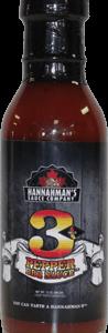 Hannaman's 3 Pepper BBQ Sauce