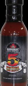 Hannaman's 5 Pepper BBQ Sauce