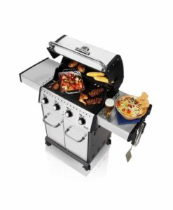 Broil King® Baron™ S420 - Stainless Steel - 4 Burner - Propane Gas Grill