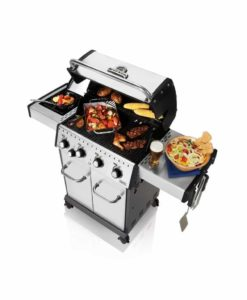 Broil King® Baron™ S440 - Stainless Steel - 4 Burner - Propane Gas Grill