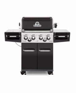 Broil King® Regal™ 490 Pro - Black Porcelain - 4 Burner - Propane Gas Grill