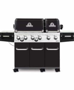Broil King® Regal™ XL Pro - Black Porcelain - 6 Burner - Propane Gas Grill