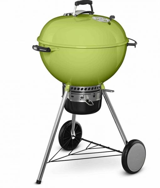 "Weber Master-Touch Charcoal Grill Spring Green 22"" Limited Edition"