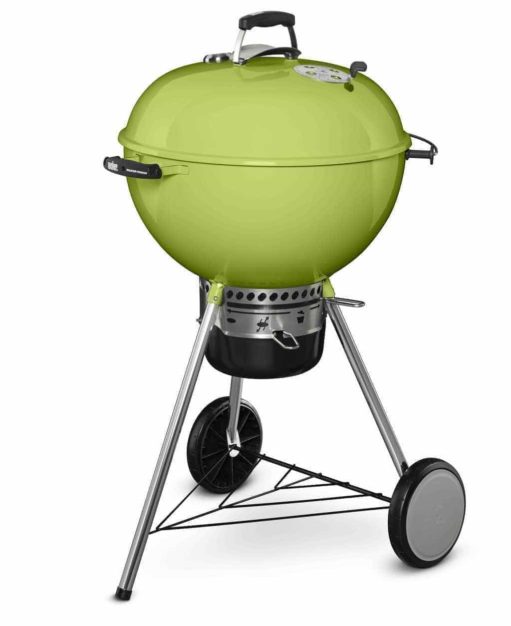 Home Hardware Kitchen Appliances Weber Master Touch Charcoal Grill Spring Green 22 Limited Edition