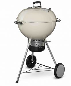 "Weber Master-Touch Charcoal Grill Ivory 22"" Limited Edition"