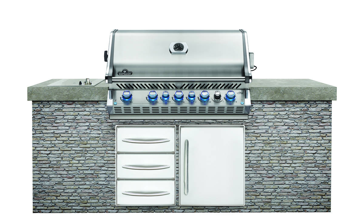 Napoleon Built-in Prestige PRO™ 665 with Infrared Rear Burner - Stainless Steel - Propane