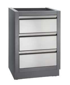 Napoleon OASIS™ Three Drawer Cabinet - Carbon