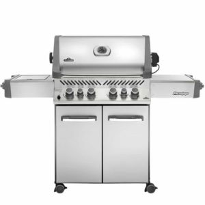 Napoleon Prestige® 500 with Infrared Side and Rear Burners - Stainless Steel - Natural Gas