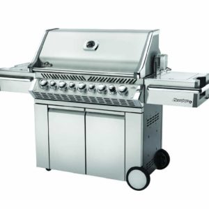 Napoleon Prestige PRO™ 665 with Infrared Rear and Side Burners - Stainless Steel - Natural Gas