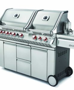 Napoleon Prestige PRO™ 825 with Power Side Burner and Infrared Rear & Bottom Burners - Stainless Steel - Propane
