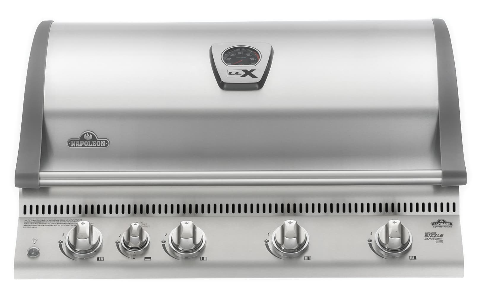 Napoleon Built-in LEX 605 with Infrared Bottom and Rear Burners - Stainless Steel - Natural Gas