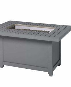 Napoleon Hamptons Rectangle Patioflame® Table - Grey