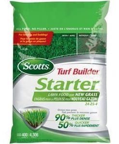 24-25-4 Lawn Starter Fertilizer 320m2
